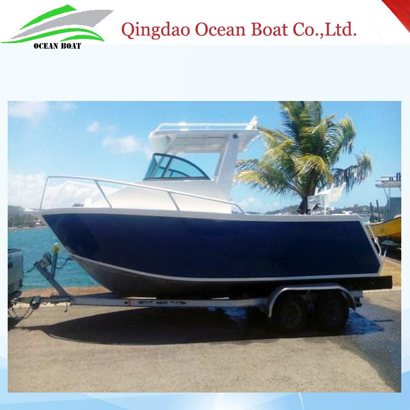 Brand New 6.25m Cuddy Cabin Aluminum Hull Yacht Cruising Boat