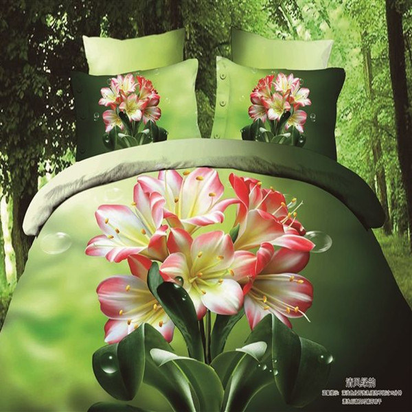 2015 Fashion Style 3D Printed Bedding Set