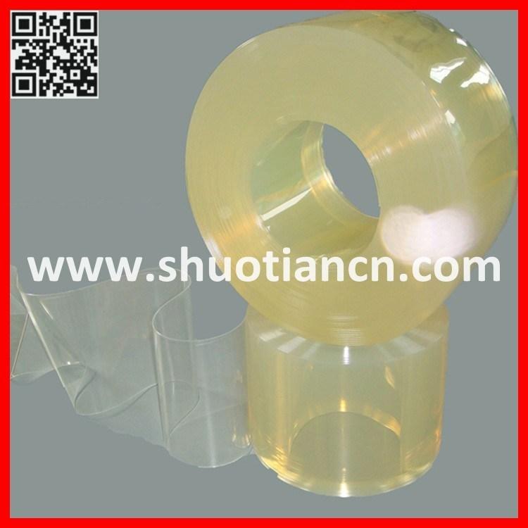Polar PVC Strip Curtain, PVC Curtain Strip, PVC Plastic Transparent Curtain (ST-004)