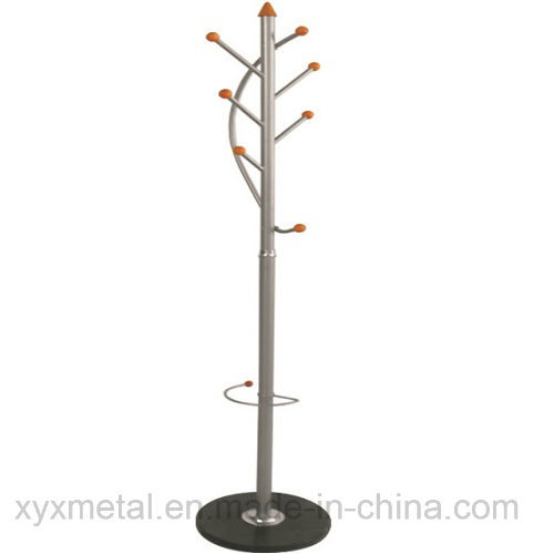 Metal Clothes Coat Rack Stand - Fashion Office and Living Room Furniture