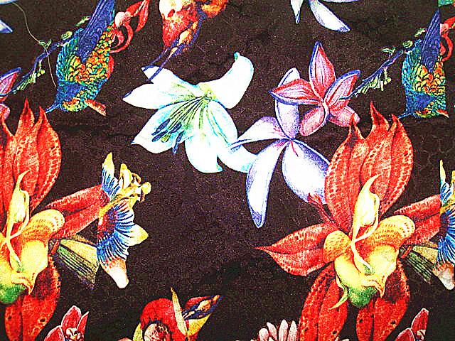 Printing Silk Satin Stretch Fabric