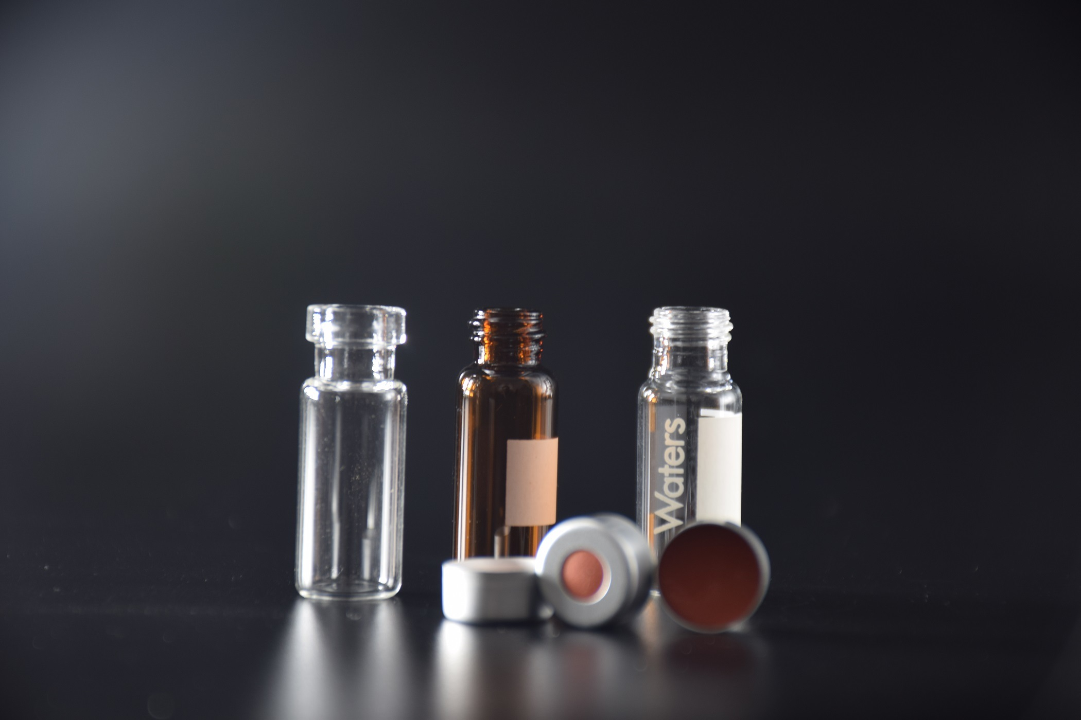 2ml Clear and Amber Tubular Glass Vials