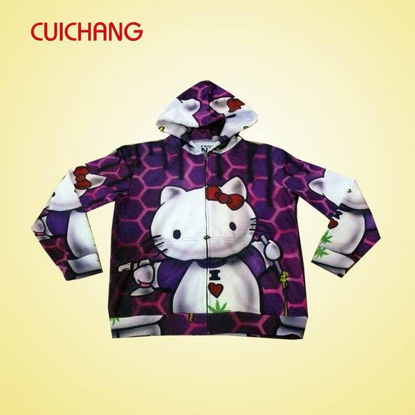 Sublimation Mens Hoody with Custom Design