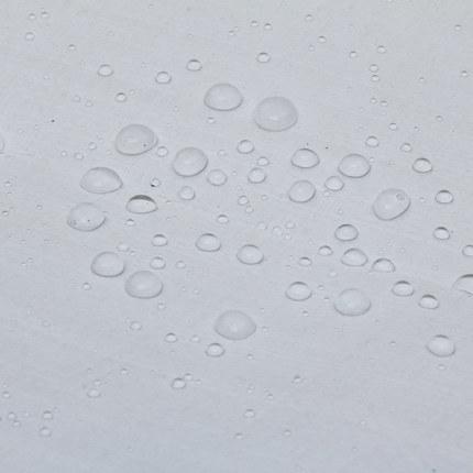 White PE Laminated Waterproof Tarpaulin/Tarp Roll