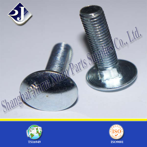 Zinc Plated Carriage Bolt (DIN603)