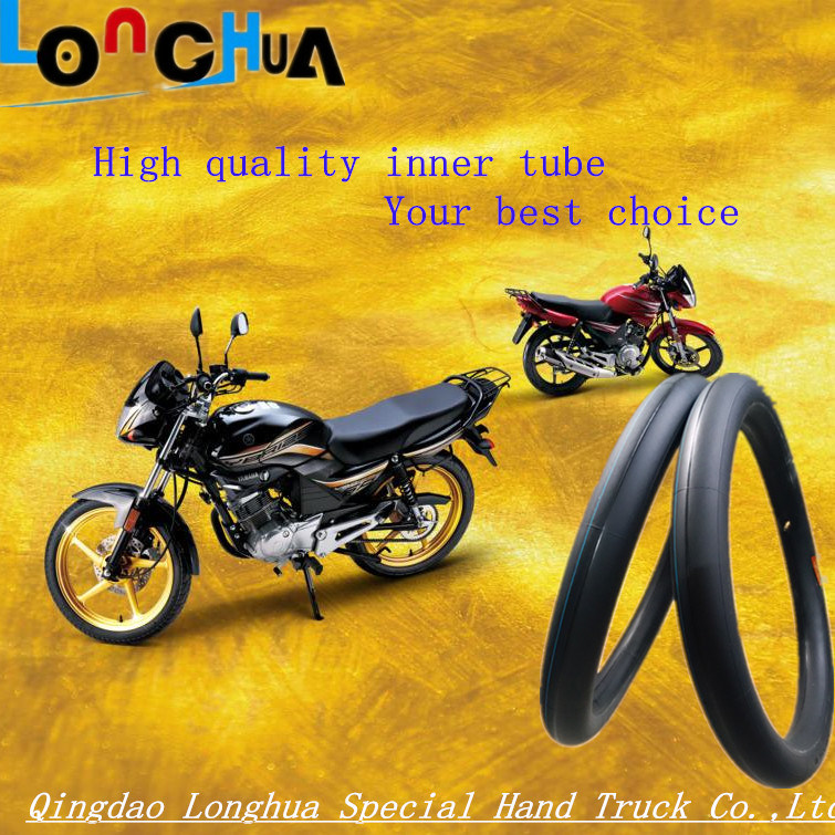 Qingdao Professional Factory Natural Motorcycle Inner Tube (300/325-18)