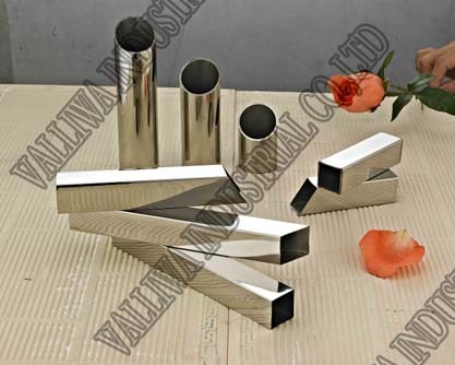 Gold Stainless Steel Pipe (304)
