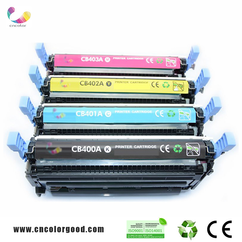Genuine 507A Ce400A Ce401A Ce402A Ce403A Color Toner Cartridges for HP Printer