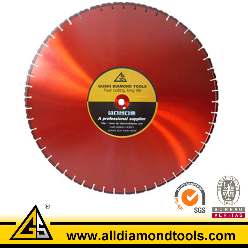 Laser Welded Diamond Wall Blade for Cutting Wall