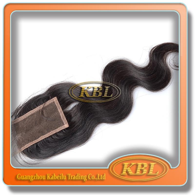 Quality Virgin Bohemian Hair Free Parting Bangs Lace Closure