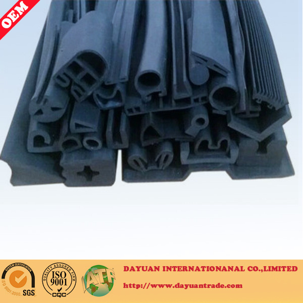 China EPDM & Silicone Extrusion Rubber Seal