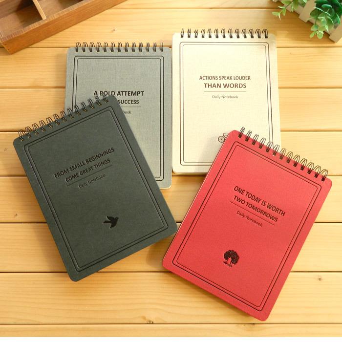School Notebook / Student Exercise Notebook / Paper Spiral Notebook B5