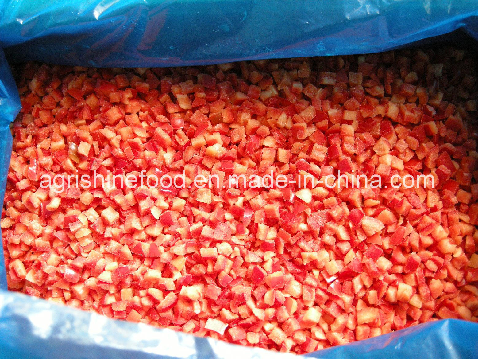 IQF Bell Pepper or Frozen Bell Pepper Dices