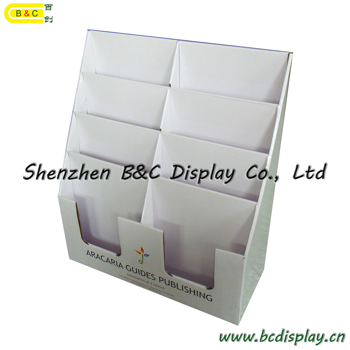 Notebook Counter PDQ, Table PDQ, Office PDQ Display Box, Display Stand (B&C-D032)