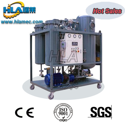 Vacuum Turbine Oil Recycling Purify Machine