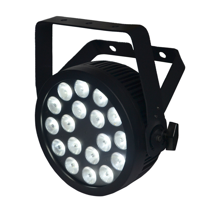 18X12W RGBWA UV Slim LED PAR Stage Light with Powercon and Ce Certification