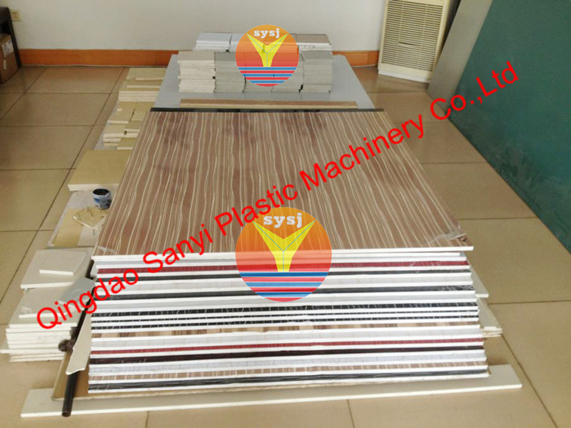 PVC Foam Board Machine for Furniture Panel