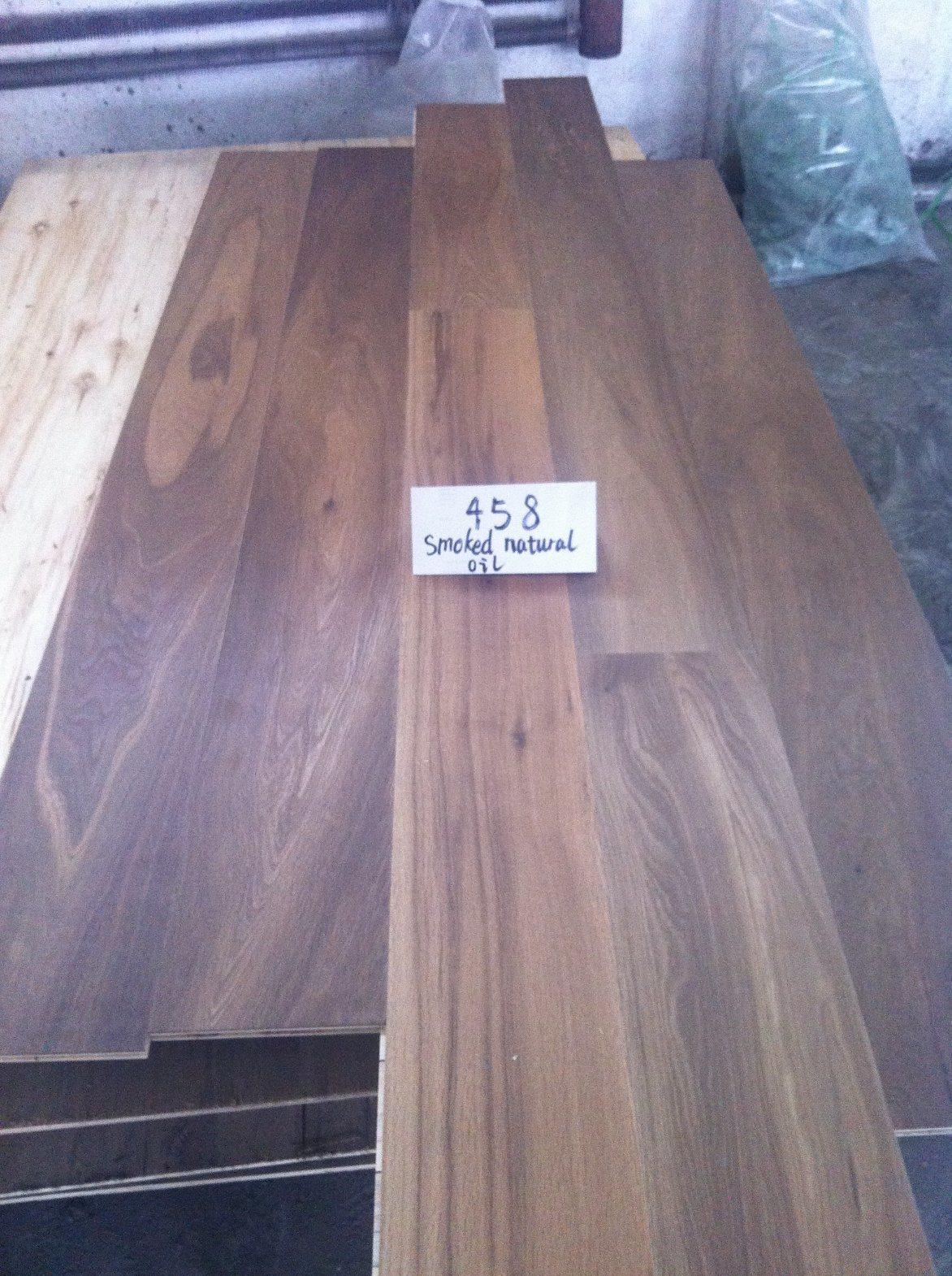 Smoked Oiled European Oak Engineered Wood Flooring