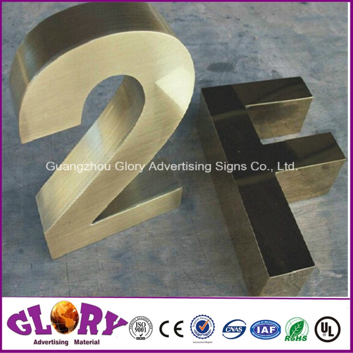 Number Sign with LED Light up Letter Sign for LED Display
