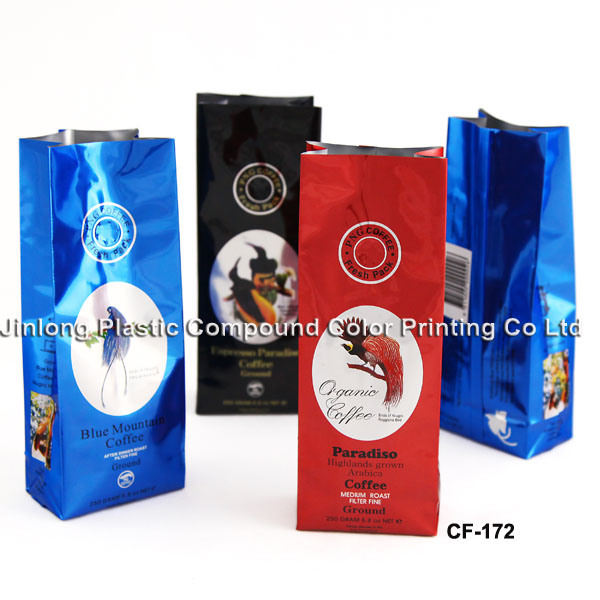 Custom Printing Coffee Packaging Bag with Various Styles