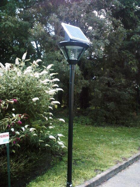Modelo solar de las l mparas del jard n sll s11 modelo - Lampara solar jardin ...