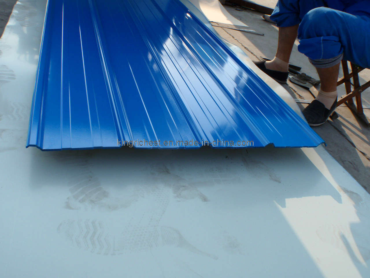 Roofing Sheets Installation Services : Corrugated roofing september
