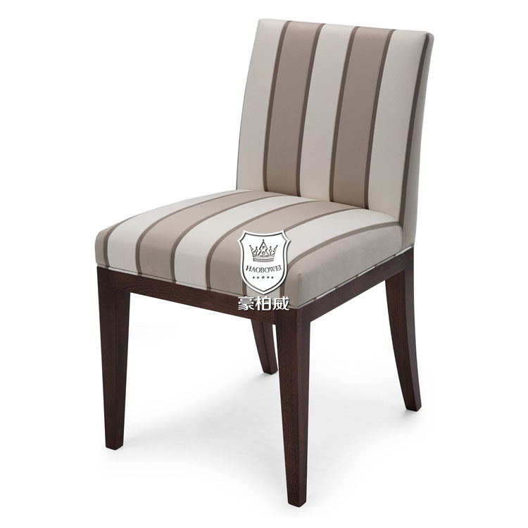 Hotel Dining Chair with Beech Wood Legs