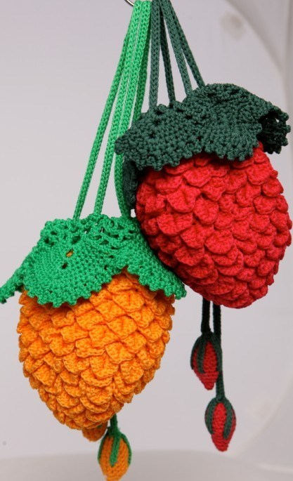 Handmade Crochet Handbags : China 100% Handmade Crocheted Purse - China Handmade Purse, Handbag