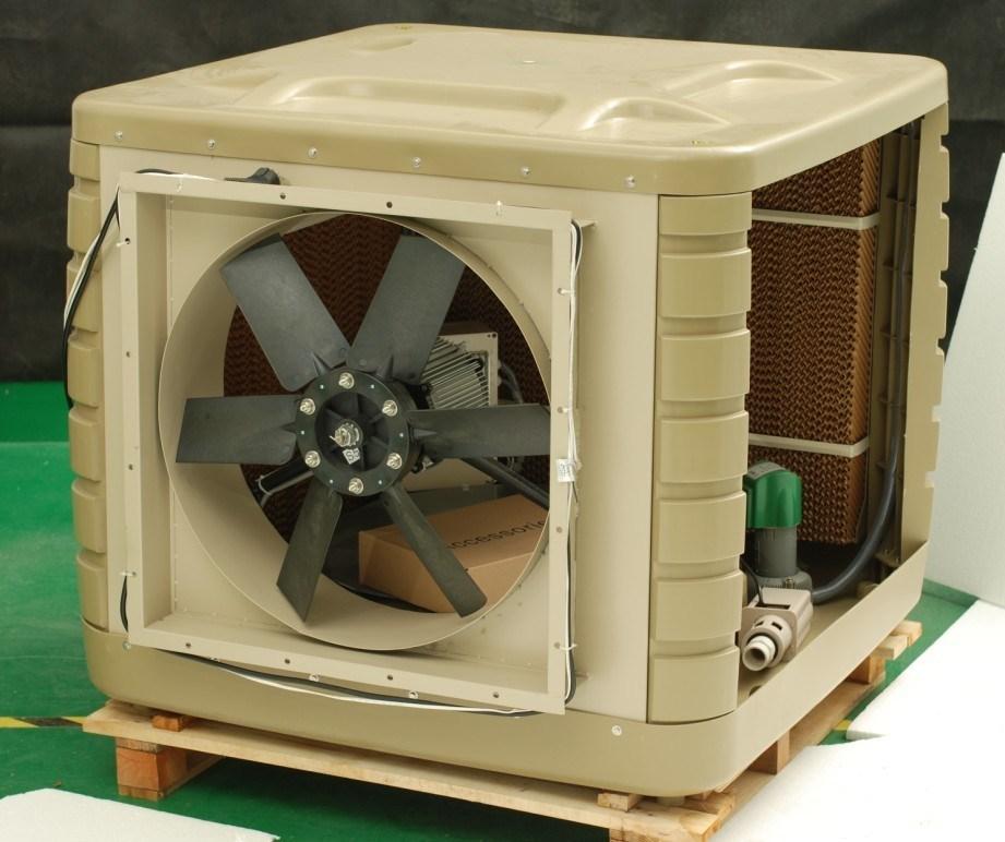 Evap Cooler Installation : Central air vs evaporative cooler