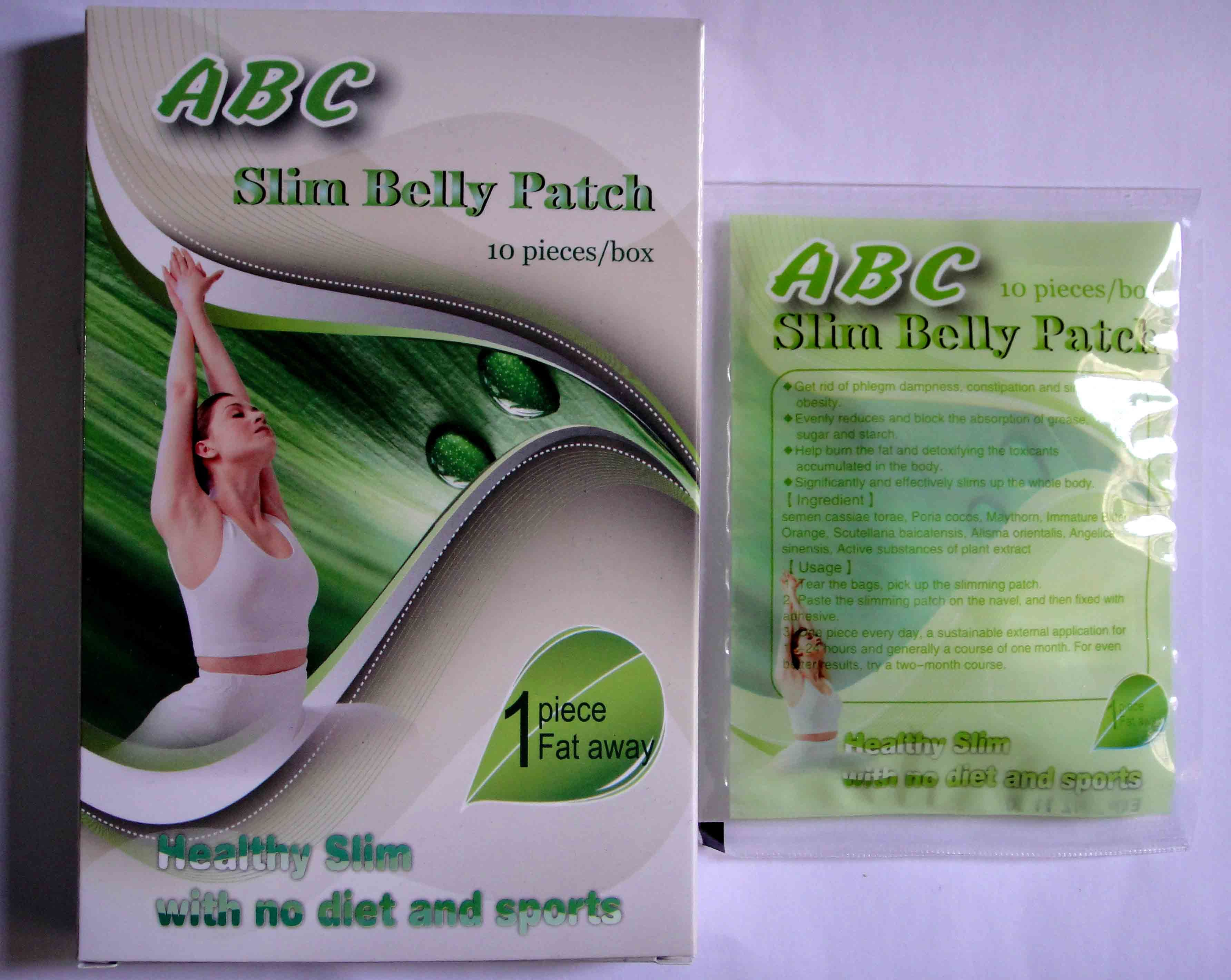 Abc Slim Belly Patch The Best Weight Loss Chinese Herb Patch