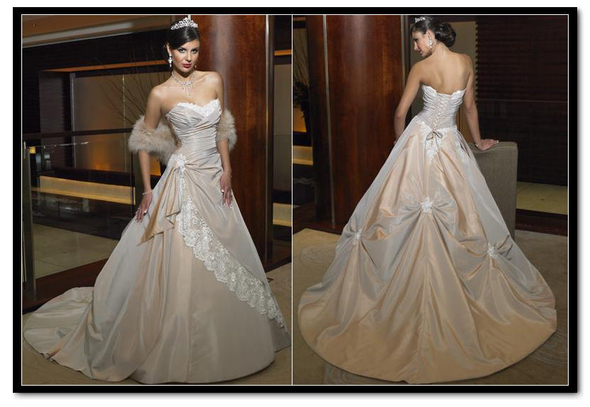 China Princess Sweetheart Neckline Taffeta Wedding Dresses Amp Wedding Gowns WDS 5115