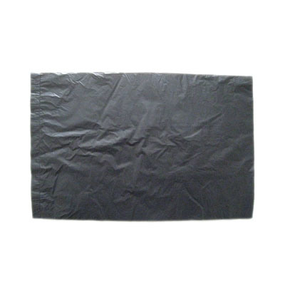 HDPE Black Disposable Plastic Loose Pack Small Flat Bag