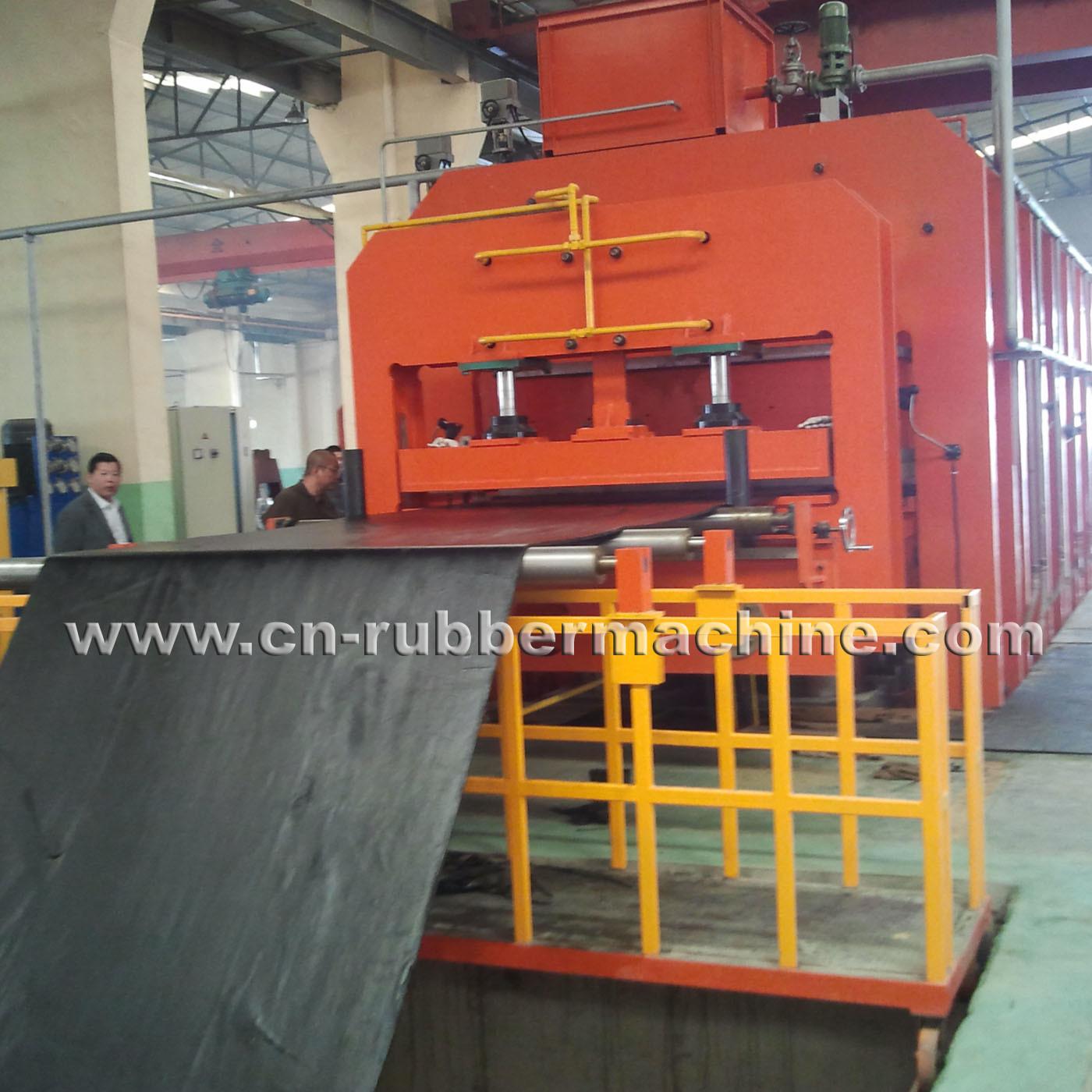 Fabric Core Conveyor Belt Curing Press