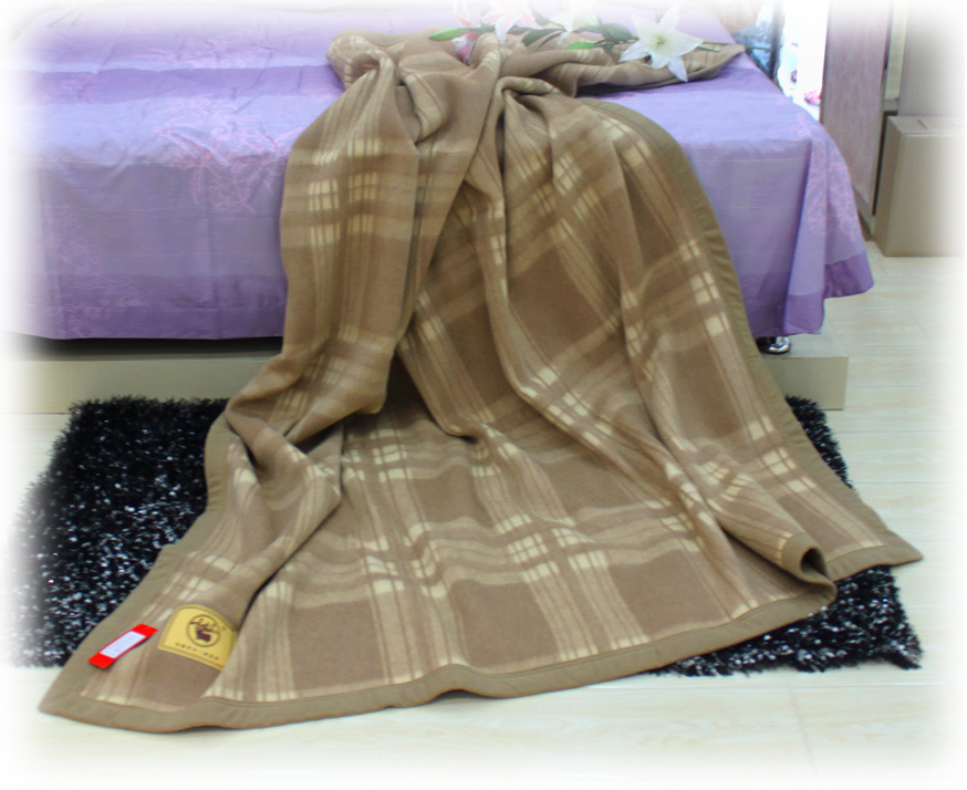 Cashmere Bedding /Camel Wool Blankets/ Wool Textile/Fabric/Bed Sheet