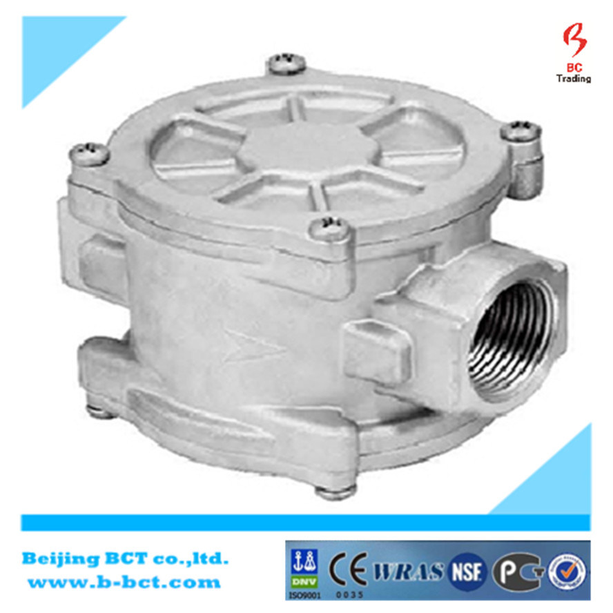 Brass Alloy Aluminum Body Solenoid with Detector