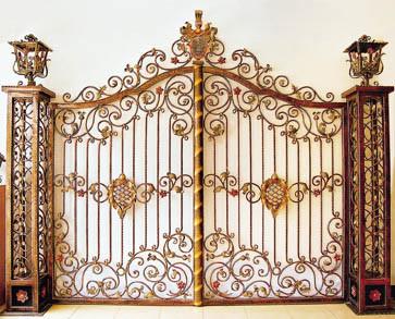 ... Iron Driveway Gate - China Iron Gates Models, Iron Main Gate Designs