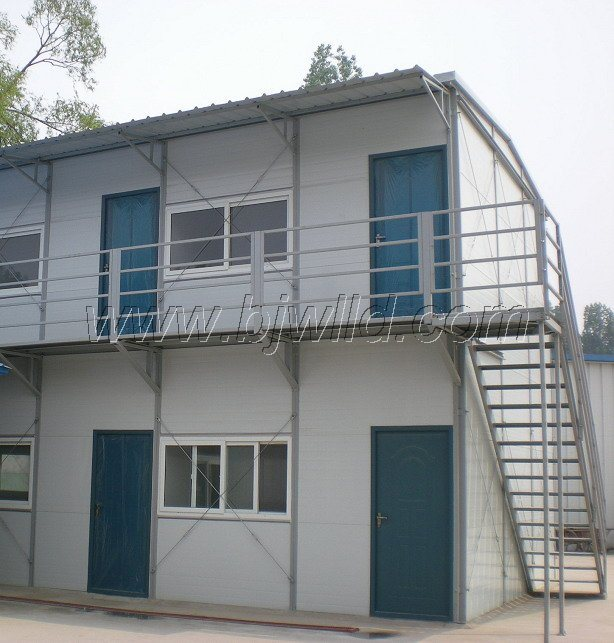 China Low Cost Two Story Building House Photos Pictures