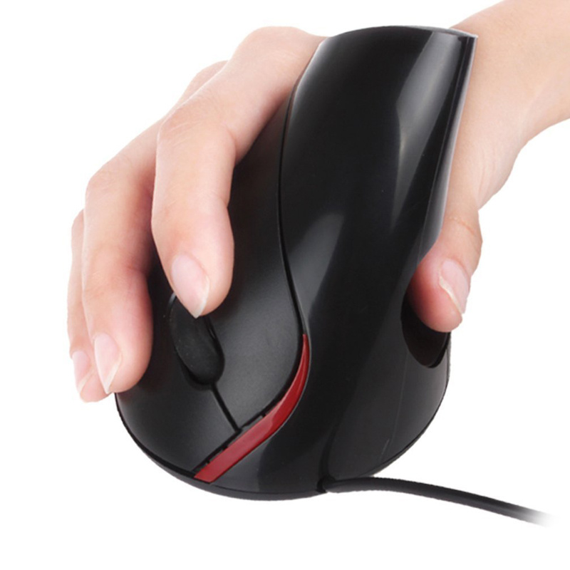 "Ergonomic Mouse, Healthy Neutral ""Handshake"" Wrist"