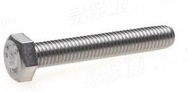 JIS B1180 Hex Bolts Carbon Steel Thread Bolt All Grade