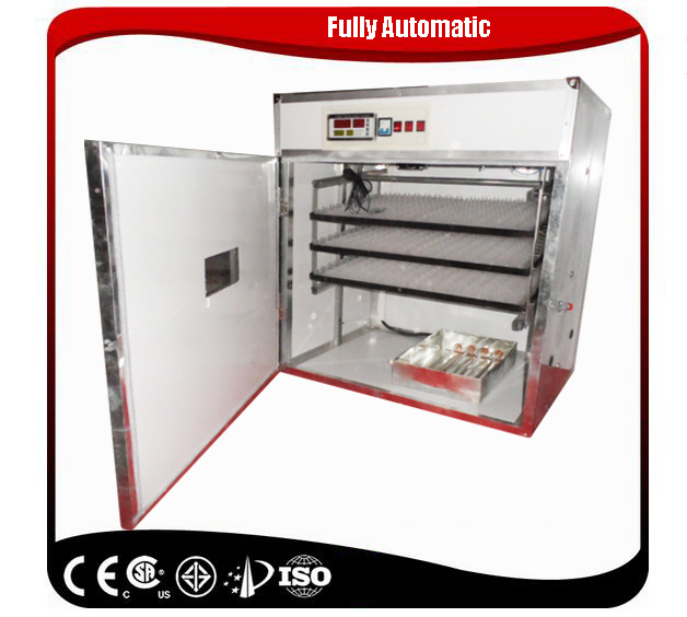 Farming Used Small Fully Automatic Ostrich Egg Incubator with Ce