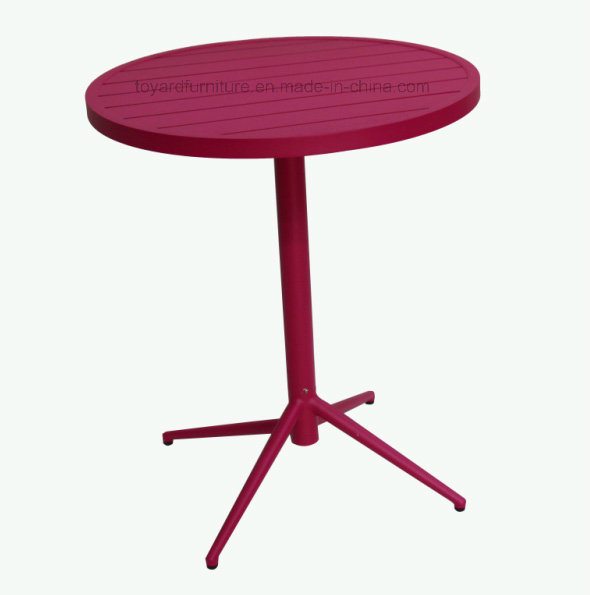 New Fashion Cheap Modern European Furniture Outdoor Garden Club Folding Table Chair Bistro Set