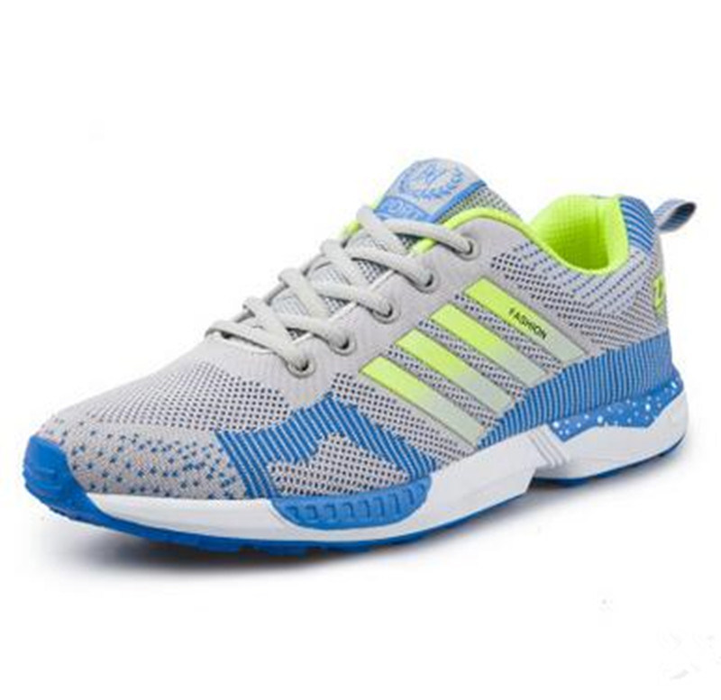 2017 New Fashion Sport Shoes Breathable Flyknit Running Shoes Zapatos