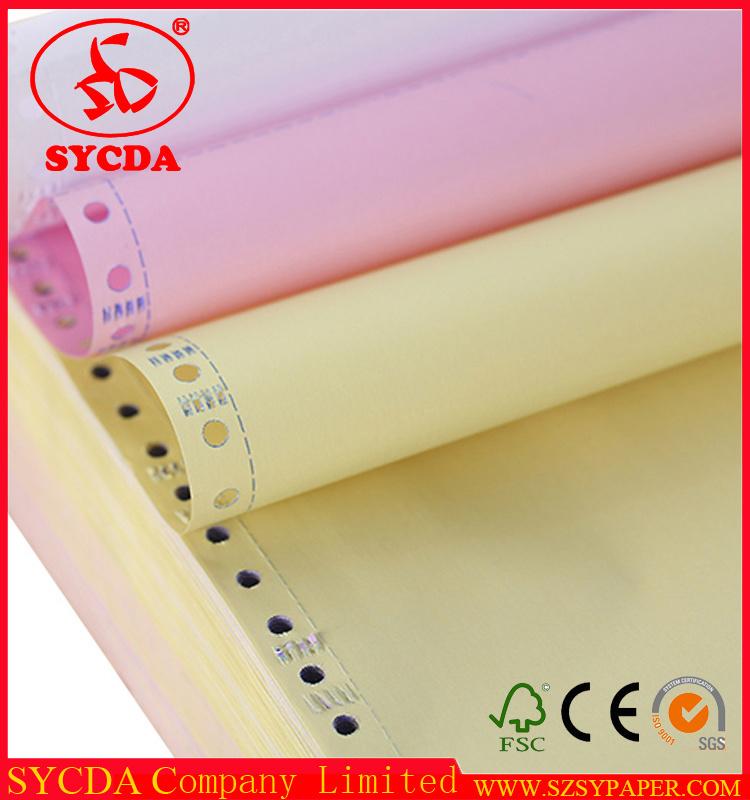 100% Wood Pulp Carbonless Computer Printing Paper