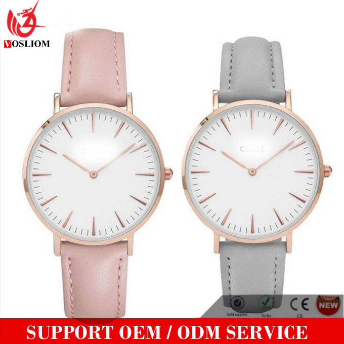 Yxl-588 China Supplier Fashion Sport OEM/ODM Logo Lady Watches for Women 2016 New Design Women Watch Leather Band