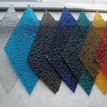 Big Diamond Embossed Polycarbonate Sheet for Indoor Decoration