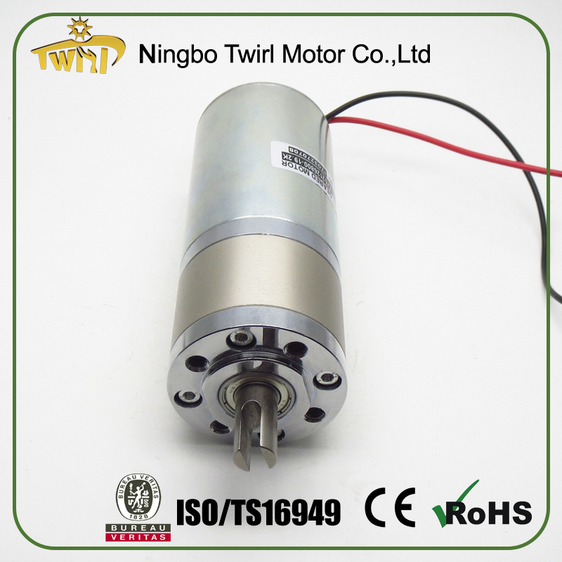 Motor for Sale 52mm 12V 24V DC Electric Motor Low Rpm
