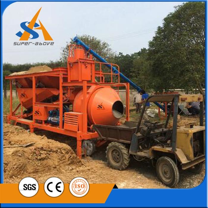 Construction Equipment Industrial Machine with Concrete