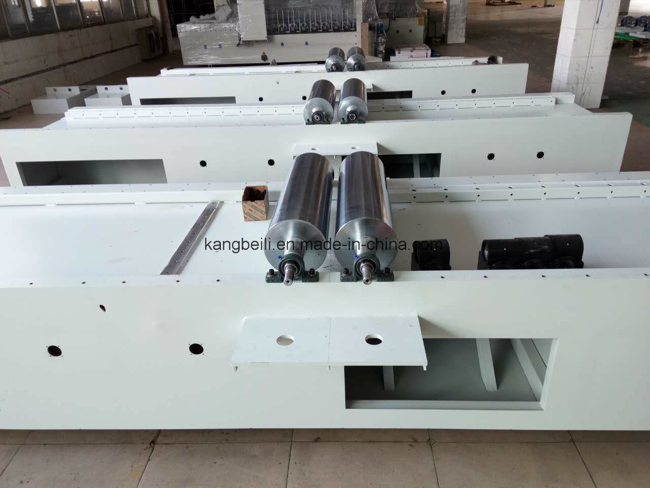 Pur Hot Melt Decorative Mingde Brand Woodworking Wrapping Machine
