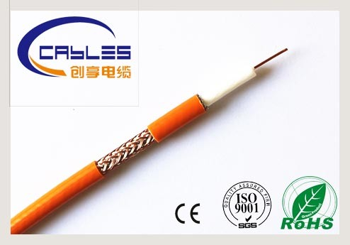 Standard Rg59 /RG6/Rg11 Copper Coaxial Cable 75ohms