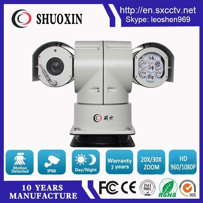 2.0MP 20X Zoom 100m IR HD PTZ IP Camera